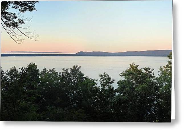 Inspiration Point Greeting Cards - Sunset from Inspiration Point Greeting Card by Twenty Two North Photography