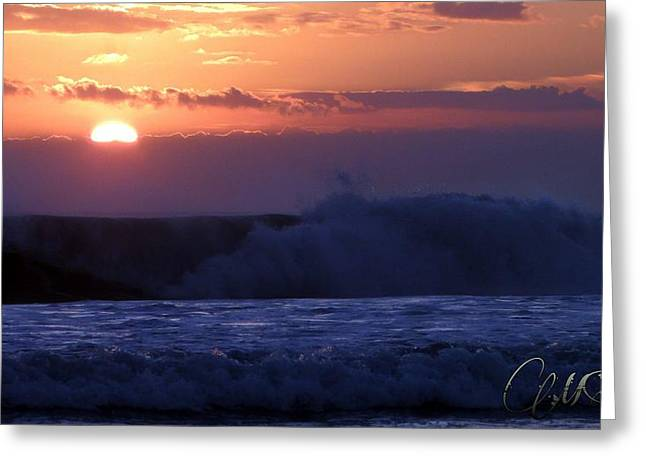 Gloaming Greeting Cards - Sunset in Bali Greeting Card by Marie  Stoffova