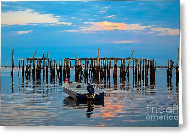 Ptown Greeting Cards - Sunset in Cape Cod Greeting Card by Art K