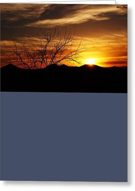 Joseph Frank Baraba Greeting Cards - Sunset Greeting Card by Joseph Frank Baraba