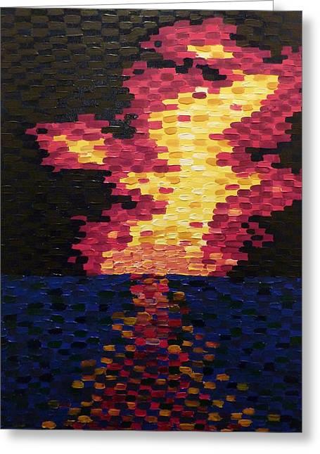 Joshua Redman Greeting Cards - Sunset Greeting Card by Joshua Redman