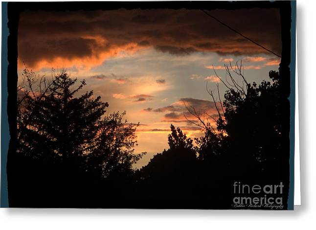 Sunset Greeting Cards Greeting Cards - Sunset Magic Greeting Card by Bobbee Rickard