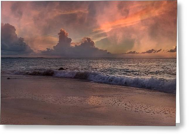 Carribean Greeting Cards - Sunset Movie  Greeting Card by Betsy C  Knapp