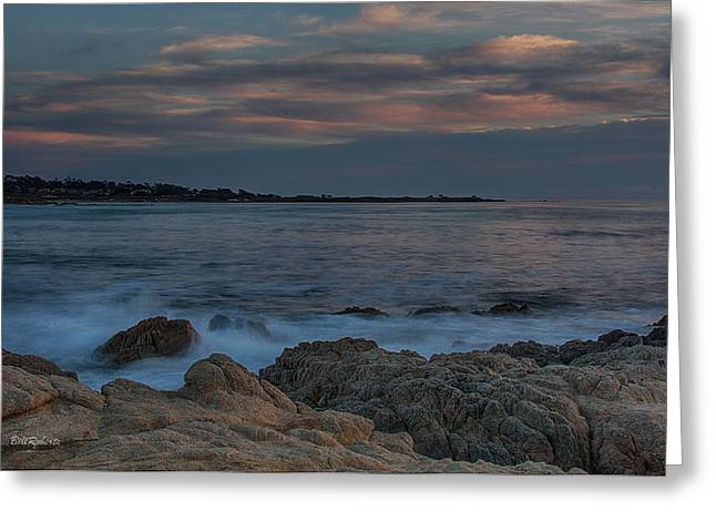 California Central Coast Greeting Cards - Sunset Over Point Joe Greeting Card by Bill Roberts