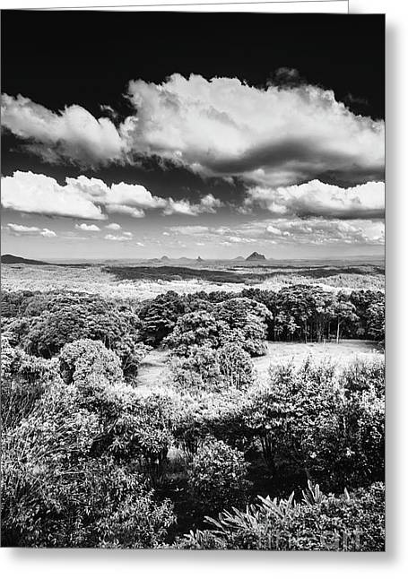 Sunshine Coast Hinterland Lookout Greeting Card by Jorgo Photography - Wall Art Gallery