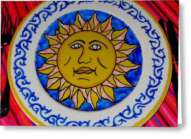 Mccoy Greeting Cards - Sunshine is Delicious. Greeting Card by Andy Za