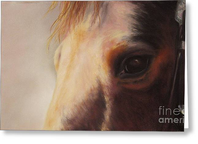 Pony Pastels Greeting Cards - Sunshine Queenie II Greeting Card by Sabina Haas