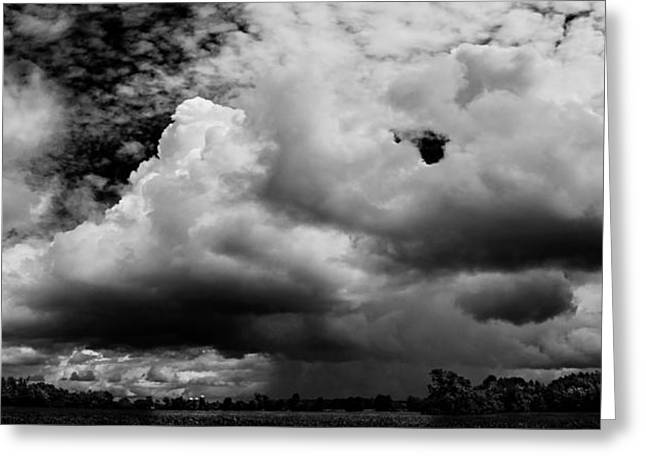 New Jersey Greeting Cards - Super Storm Clouds Greeting Card by Louis Dallara