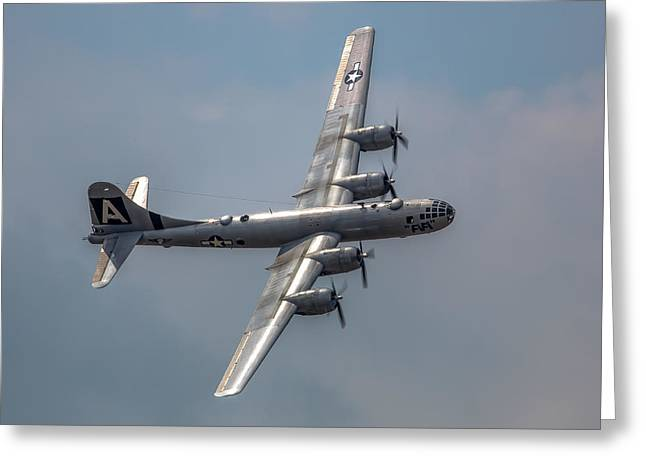 Superfortress Greeting Card by Bill Lindsay