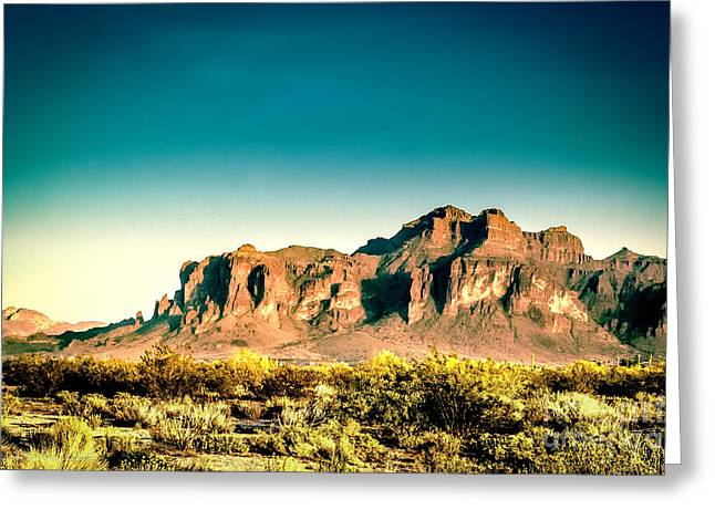 Superstitions Greeting Card by Arne Hansen