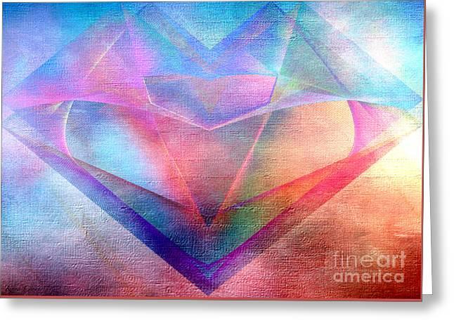 Supreme Greeting Card by Karo Evans