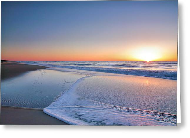 Framed Photograph Greeting Cards - Surf And Sand III Greeting Card by Steven Ainsworth