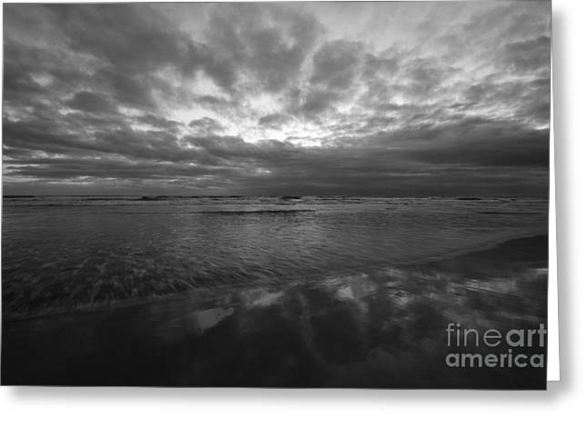 Pacific Ocean Prints Greeting Cards - California Surf And Sky 48x72 Print Greeting Card by John Tsumas