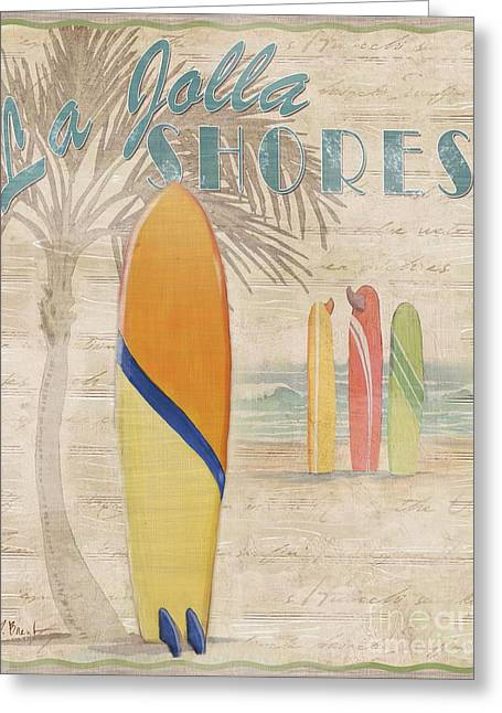 Surf City Greeting Cards - Surf City III Greeting Card by Paul Brent