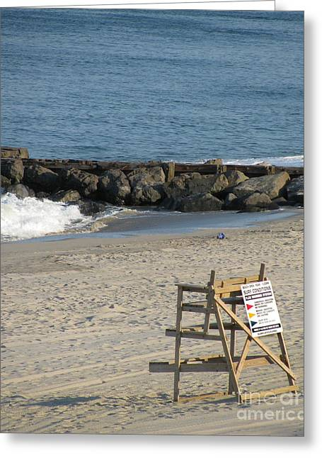 Surf Life Greeting Cards - Surf Conditions Greeting Card by Colleen Kammerer