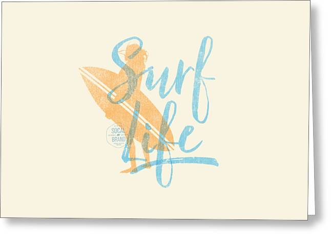 Surf Life 2 Greeting Card by SoCal Brand