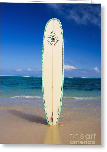 Surfing Photos Greeting Cards - Surfboard Greeting Card by Tomas del Amo - Printscapes