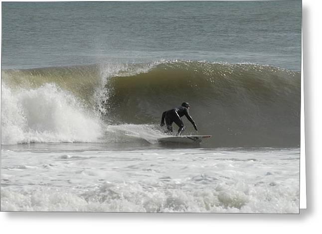 Ocean Art Photos Greeting Cards - Surfing 113 Greeting Card by Joyce StJames