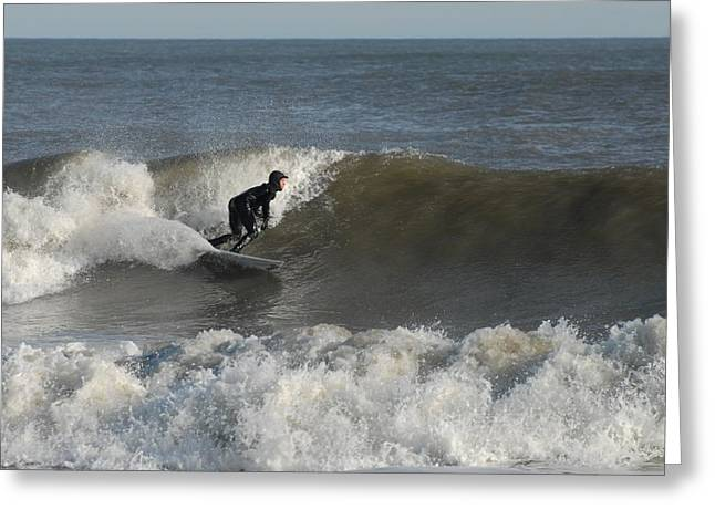 Surfing Photos Greeting Cards - Surfing 160 Greeting Card by Joyce StJames