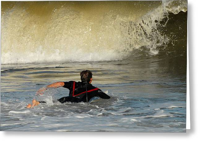 Surfing Photos Greeting Cards - Surfing 6 Greeting Card by Joyce StJames
