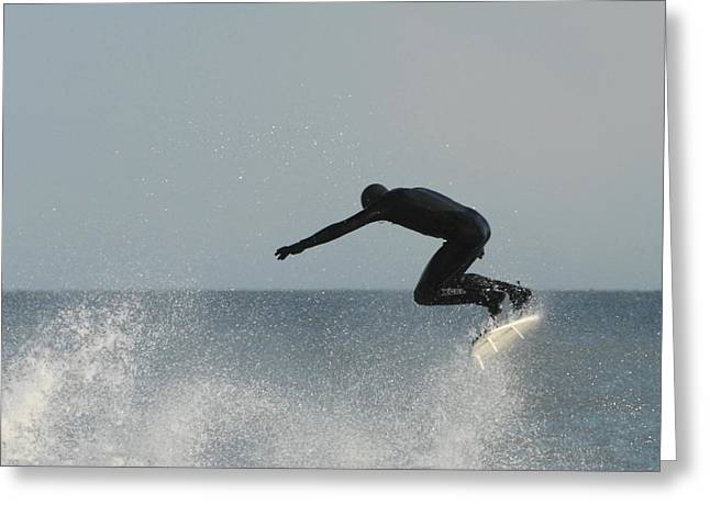 Surfing Photos Greeting Cards - Surfing 82 Greeting Card by Joyce StJames