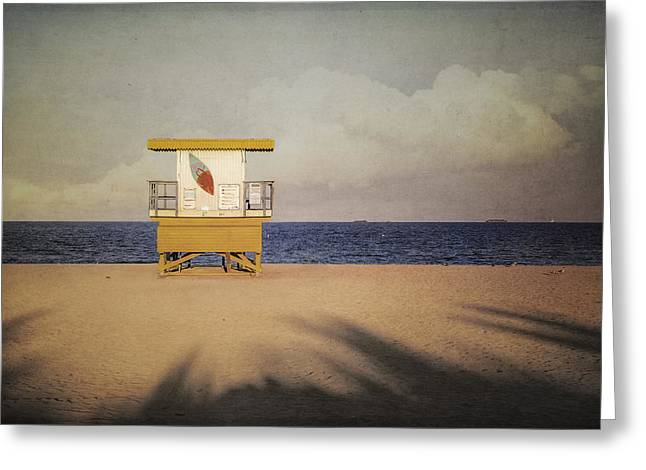 Surf's Up W Textures Greeting Card by Eduard Moldoveanu