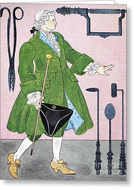 Surgeon, 18th Century Greeting Card by Granger