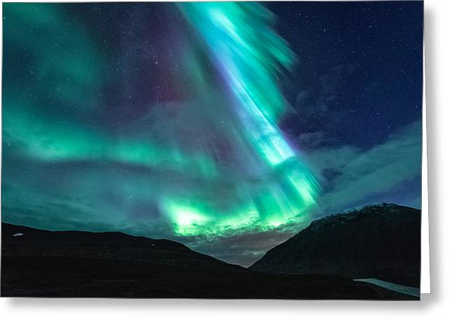 Rapids Photographs Greeting Cards - Surprise Attack Greeting Card by Tor-Ivar Naess