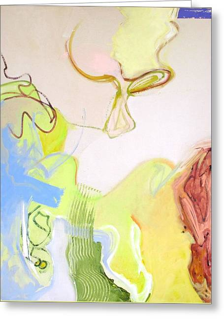 Abstract Shapes Greeting Cards - Surprises #17 Greeting Card by Philip Rader