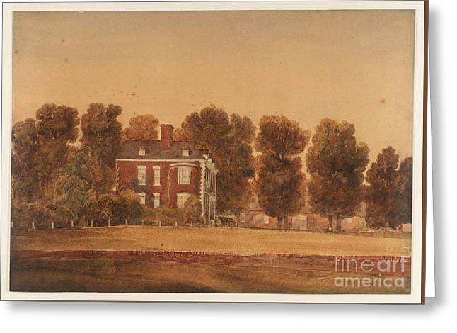 Sutton Coldfield Greeting Card by David Cox
