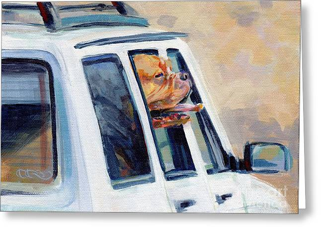 Suv Ammo Greeting Card by Kimberly Santini
