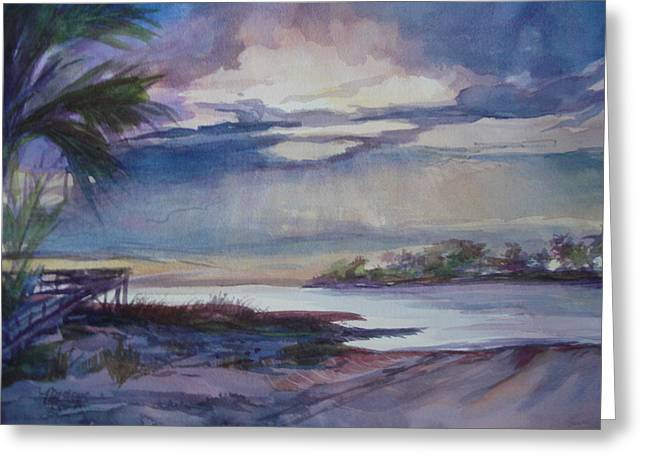Suwannee River Confluence Greeting Card by Marilyn Masters