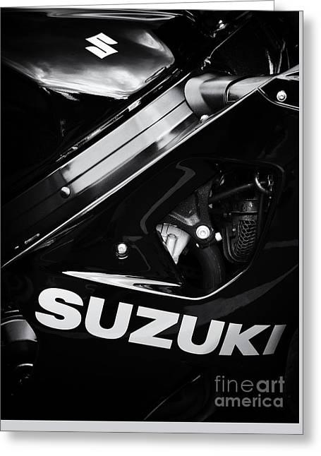 Suzuki Greeting Card by Tim Gainey