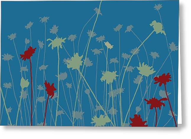 Tasteful Digital Greeting Cards - Suzys Meadow Greeting Card by Sarah Hough