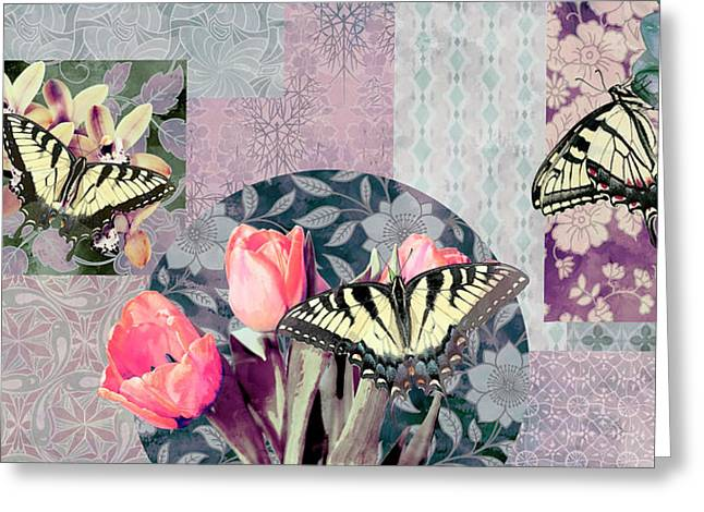 Butterfly Plant Greeting Cards - Swallowtail Butterfly 1 Greeting Card by JQ Licensing