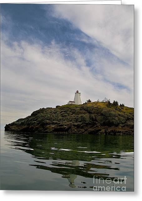 Beckon Greeting Cards - Swallowtail Lighthouse.. Greeting Card by Nina Stavlund