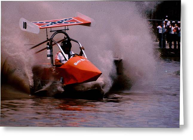 Naples Greeting Cards - Swamp Buggy Greeting Card by Michael L Kimble