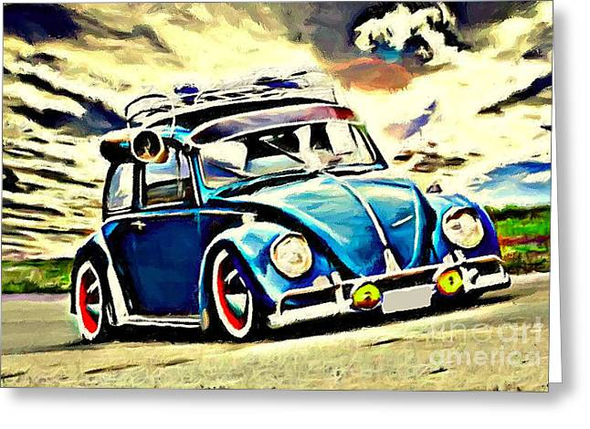 Swap Cooler Greeting Card by S Poulton