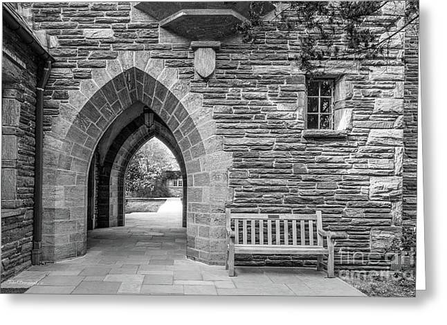 Swarthmore College Bond Hall Greeting Card by University Icons
