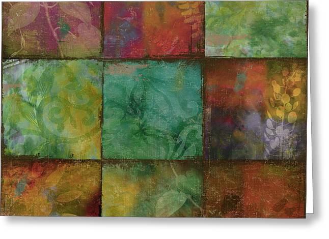 Swatchbox I Greeting Card by Mindy Sommers