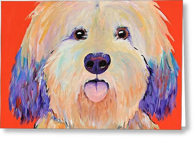 Greeting Cards - Sweeney Greeting Card by Pat Saunders-White