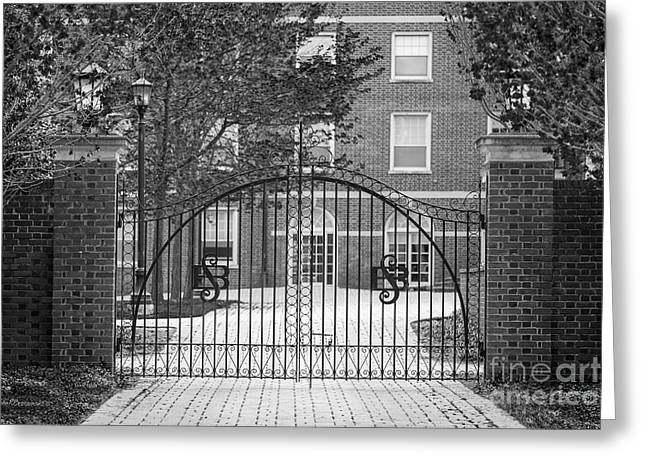 Sweet Briar College Gate Greeting Card by University Icons