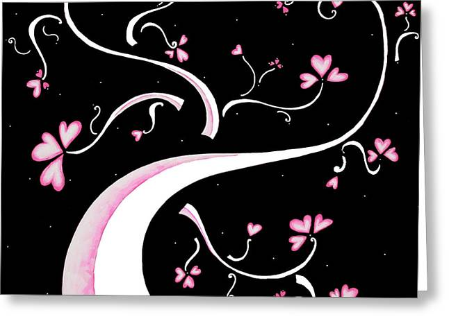 Bold Style Greeting Cards - Sweet Charity by MADART Greeting Card by Megan Duncanson