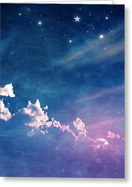 Sweet Dreams Greeting Card by Cynthia Decker