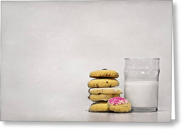 Milk Photographs Greeting Cards - Sweet Dreams Greeting Card by Evelina Kremsdorf
