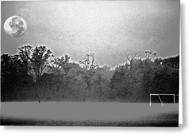 Futbol Greeting Cards - Sweet Dreams of Soccer Greeting Card by Peter  McIntosh