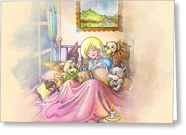 Francis Greeting Cards - Sweet  Dreams Greeting Card by Reynold Jay