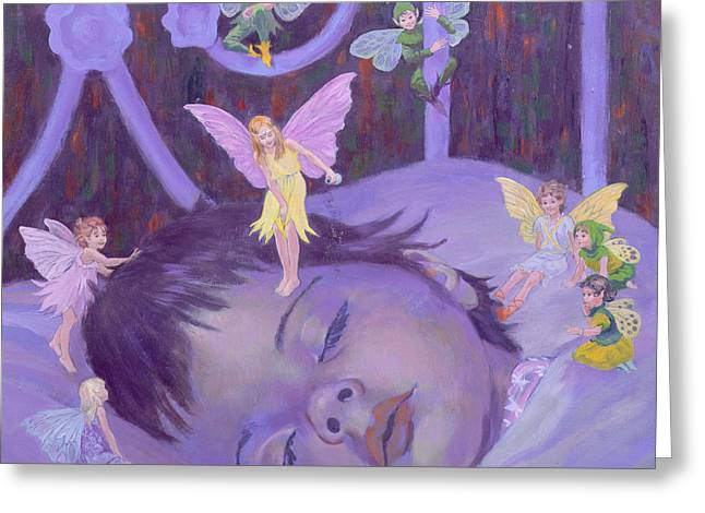 Sweet Dreams Greeting Card by William Ireland