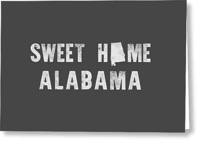 Sweet Home Alabama Greeting Card by Nancy Ingersoll