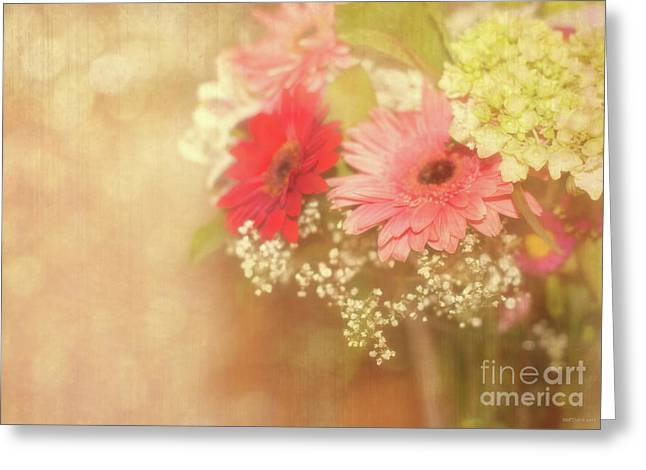 Babys Breaths Greeting Cards - Sweet Nothings Greeting Card by Reflective Moment Photography And Digital Art Images